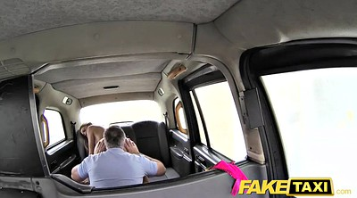 Footjob, Taxi, Cute, Fake taxi