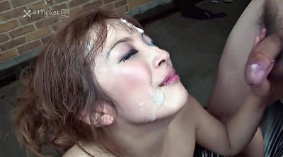 Bukkake, Japanese uncensored, Uncensored, Bukkake creampie