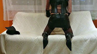 Leather, Crossdress