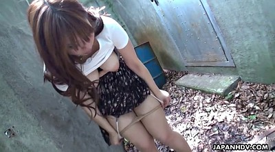 Japanese masturbate, Outdoor hairy