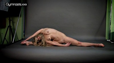 Naked, Flexible, Gymnastic, Sexy hot