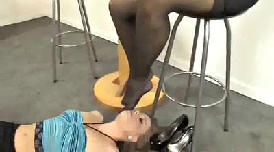 Foot, Mistress, Nylons feet, Nylon feet, Worship, Lesbian nylon