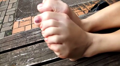 Chinese foot, Chinese granny, Student, Chinese student, Chinese feet, Granny feet