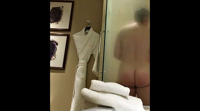 Hotel, Hidden shower, Voyeur shower, Wife hotel, Hidden mature, Hotel hidden