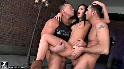 Threesome, Anal compilation