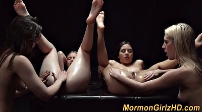 Eating pussy, Religious, Group masturbation, Group lesbian