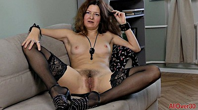 Mature solo, Solo hairy