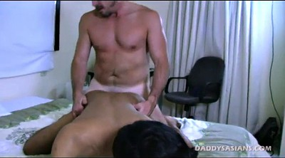Young, Kiss, Asian old, Asian young, Asian ass, Old daddy gay