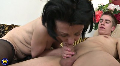 Mom and son, Old and young, Granny blowjob, Son mom, Mom young son, Mom blowjob
