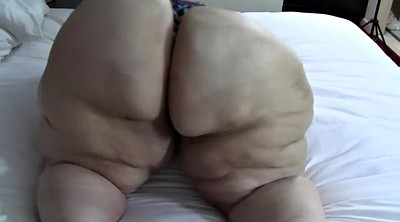 Huge ass, Bbw solo