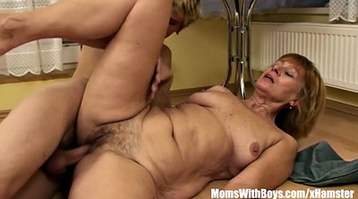 Mom, Hairy mature, Old mom, Shower mom, Granny fucking