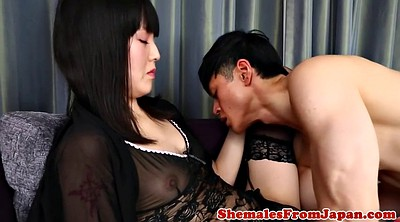 Shemale, Asian anal, Asian masturbation, Asian ladyboy