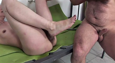 Shave hairy pussy, Masked, Foot pussy