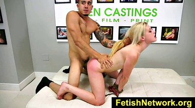 Blonde, Casting couch x, Bdsm casting