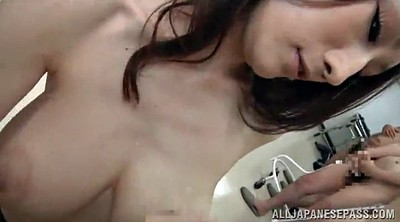 Japanese cum, Milf handjob, Cum on big tits, Asian cum, Nice tits, Japanese beauties