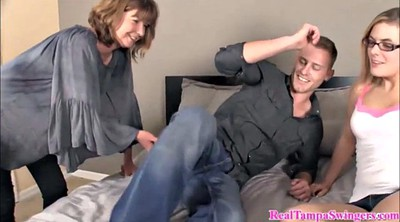 Hot mom, Mom blowjob, Swinger, Mom teach