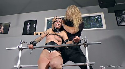 Caning, Leather, Scream, Leather fetish, Painful, Caned