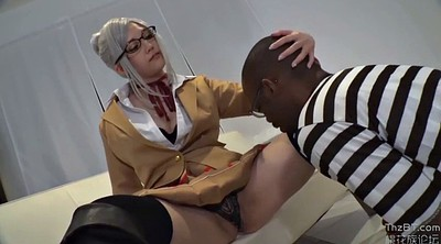 Cosplay, Japanese cosplay, Japanese big tits, Deep throat, Japanese creampie, Japanese interracial