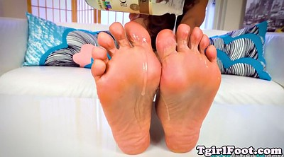 Toes, Sole, Shemale solo