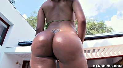 Colombian, Big woman, Thick ass, Huge woman, Bikini ass