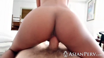 Asian man, Asian small tits, Penis
