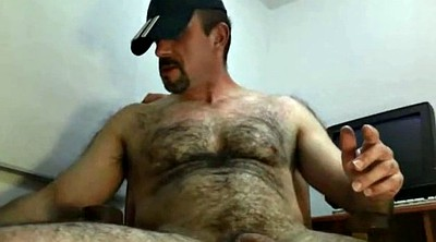 Gay bear, Hairy masturbation, Shoot