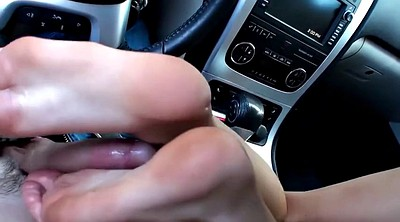 Feet, Foot fetish, Feet massage, Car feet