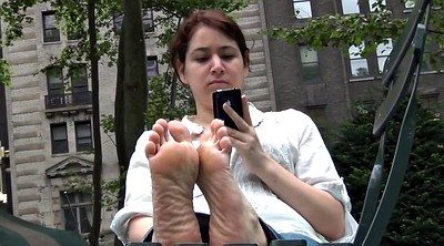 Candid feet, Sole, Milf foot