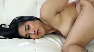 Older, Hairy riding, Asian cumshot, Bombshell
