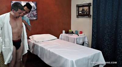 Asian old, Old daddy, Gay massage
