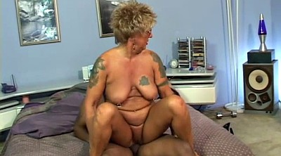 Mature interracial, Granny interracial