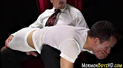 Spanked, Spanking gay, Mormon