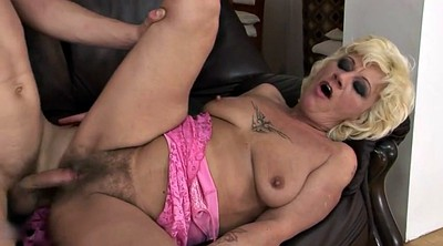 Hairy mature, Mommy, Hairy granny