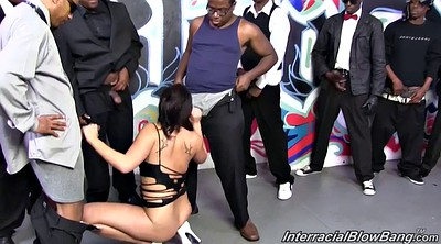 Gangbang, London keys, London keyes, London, Interracial gangbang, Key