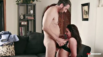 Angela white, Natural tits milf, Chubby man