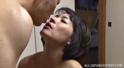 Threesome blowjob, Hairy pussy fuck, Double pussy, Asian hairy pussy