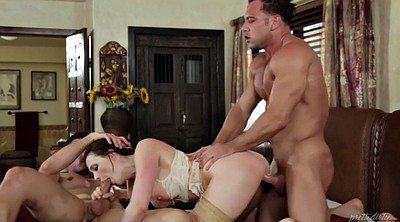 Chanel preston, Double penetration, Creampie hairy, Double creampie