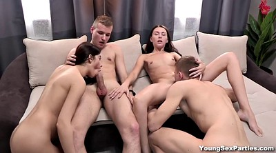 Orgy, Swap, Young group, Group sex orgy