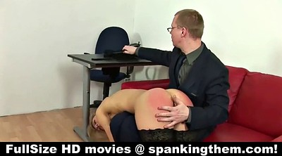 Spanking, Humiliation, Office sex, Humiliate