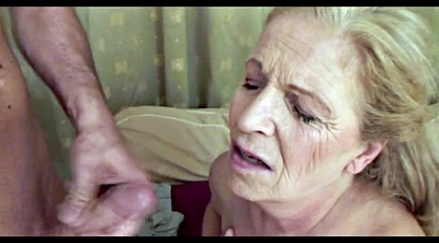Granny, Matures, Granny blowjob