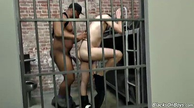 Tall, Prison, Black blowjob