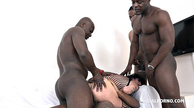 Interracial anal, Milf double anal, Huge cock anal, Ebony threesome