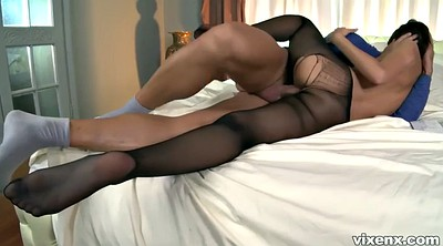 Pantyhose sex, Alexis, Pantyhose feet