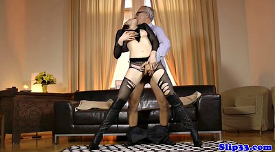 Boot, White pantyhose, Boots fuck