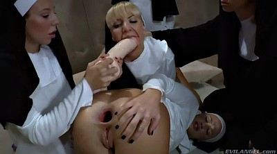Nuns, Punished, Church, Anal orgy