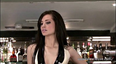 Heels, Rubber, High, Barmaid