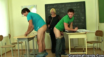 Old teacher, Teen boy, Very young, Mature and boy, Granny and boy