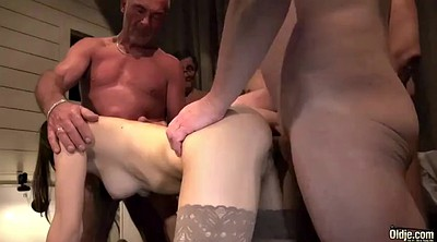 Teen, Grandpa, Old pussy