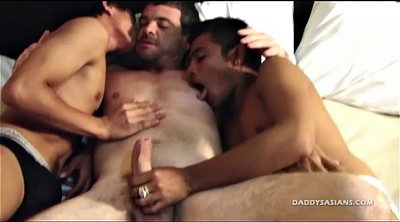 Boy, Kissing, Old teacher, Asian old, Asian daddy, Young boys