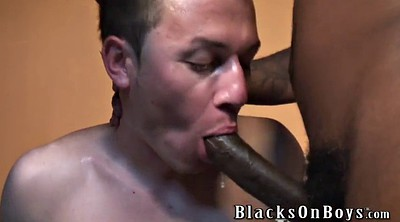 Young black, Interracial gangbang